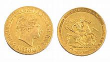 A GEORGE III SOVEREIGN, dated 1820