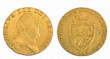A GEORGE III GUINEA, dated 1787