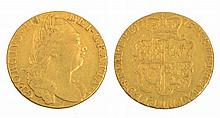 A GEORGE III GUINEA,  dated 1775
