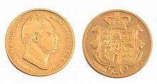 A WILLIAM IV SOVEREIGN, dated 1832