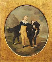 18TH CENTURY ENGLISH SCHOOL: A YOUNG CHILD WITH D