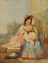 ALFRED TAYLOR (19TH CENTURY ENGLISH SCHOOL) 'PLAY