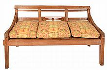 A LATE 19TH/ EARLY 20TH CENTURY COLONIAL TEAK DAY