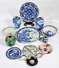 A COLLECTION OF VARIOUS ORIENTAL PORCELAIN includ