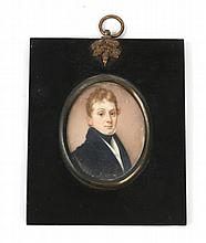ENGLISH SCHOOL, EARLY 19TH CENTURY Portrait of a