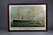 Ocean Steamship CO. of Savannah Print