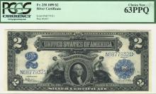 Fr. 258 - 1899 $2 Silver Certificate