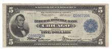 Fr. 793 - 1918 $5 FRBN