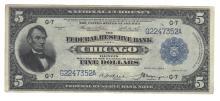 Fr. 794 - 1918 $5 FRBN