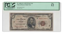 Fr. 1850-G* - 1929 $5 FRBN Star