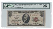 Fr. 1860-H* - 1929 $10 FRBN Star