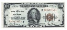 Fr. 1890-B - 1929 $100 FRBN