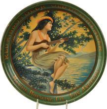 Mathie Brewing Company Hawaiian Girl Beer Tray
