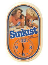 Sunkist Orange Soda Advertising Clock