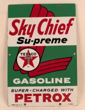 Texaco Sky Chief with Petrox Pump Plate - 1 of 2
