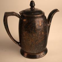 C&NW 14oz Silver Teapot International Silver Co 1946