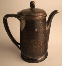 C&NW 14oz Silver Teapot International Silver Co 1949