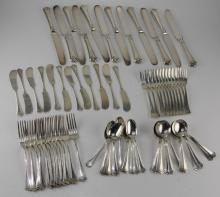 (83) PIECES OF STERLING R. WALLACE & SONS FLATWARE