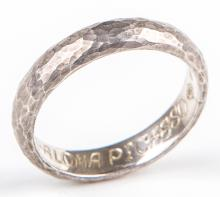 TIFFANY & CO STERLING SILVER PALOMA PICASSO RING