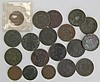 (19) HALF LARGE & 2 CENT US COINS