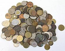 OVER 2 LBS OF FOREIGN COINS