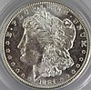 1881 S MS 63 MORGAN SILVER DOLLAR PCI