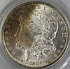 1889 MS 63 MORGAN SILVER DOLLAR PCGS