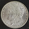 1884 CARSON CITY MORGAN SILVER DOLLAR UNCIRCULATED