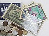 26 TROY OUNCES OF MIXED FOREIGN COIN AND CURRENCY