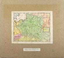 1729 MAP OF POLAND BY HERMAN MOLL