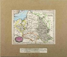 1807 POLAND MAP C. BRIGHTLY & E. KENNERSTY BUNGAY