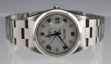 MENS ROLEX OYSTER PERPETUAL DATEJUST 2007 MODEL