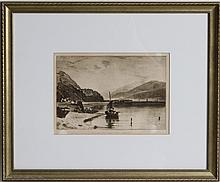 AFTER J M W TURNER ENGRAVING