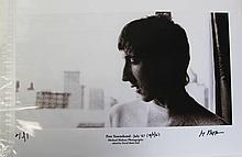MICHAEL MALTESE PETE TOWNSHEND PHOTOGRAPH PRINT
