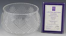 RARE LARGE EDINBURGH CRYSTAL GLENCOE BOWL