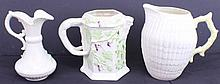 BELLEEK PORCELAIN PITCHERS