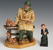 (2) ROYAL DOULTON PORCELAIN FIGURES