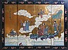 (4) PIECE CHINESE WALL PANELS EIGHT IMMORTAL