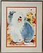 CAROL RATAFIA ENGLISH SHEEPDOG WATERCOLOR PRINT