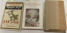 LOT OF 3 BOUND BOOKS, ONE TITLED THE PIED PIPER OF