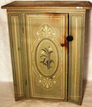 UNUSUAL MID-19TH C DIMINUATIVE AMERICAN PAINTED
