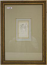 PENCIL SKETCH BY FREDERIC REMINGTON (1861-1909),