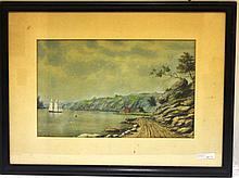 FRAMED PASTEL BY WILLIAM ALLAN WALL (1801-1885,