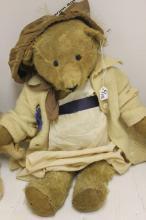 THREE TEDDY BEARS TO INCLUDE 18