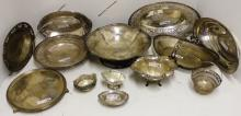 20 PIECES OF STERLING SILVER TO INCLUDE BOWLS,