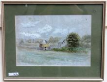 LEROY YALE (1841-1906, NEW BEDFORD ARTIST), LOT