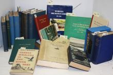 23 BOOKS RELATED TO THE HISTORY OF WHALING AND