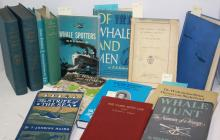 14 BOOKS RELATED TO WHALING, NAUTICAL HISTORY AND