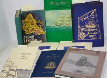 10 BOOKS RELATED TO NAUTICAL HISTORY, EXPLORATION