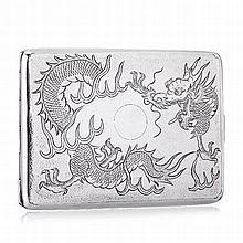 Cigarette 'dragon' in Chinese silver